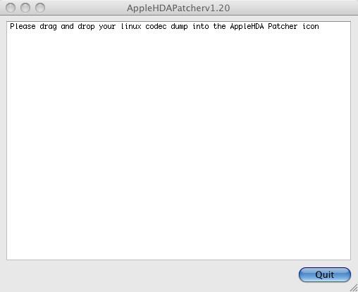 Apple HDA Patcher 1.20