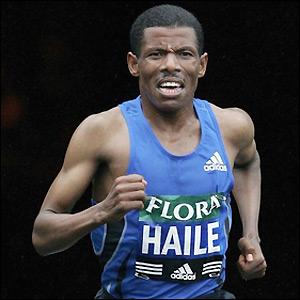 run like haile