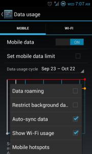 Check Auto-Sync Data